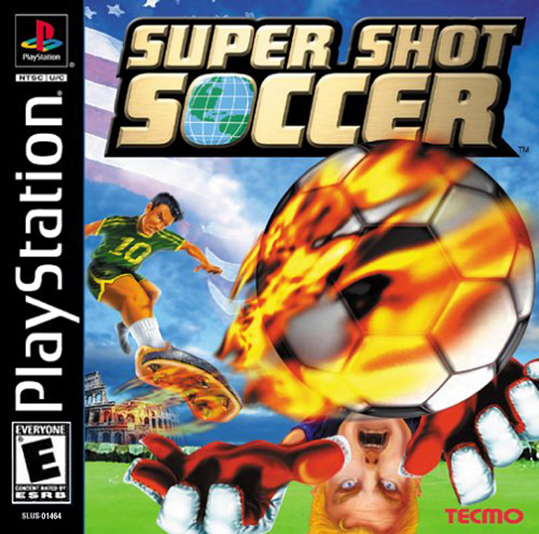Super Shot Soccer [NTSC-U] Front Cover